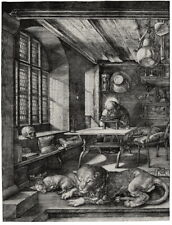 Albrecht Durer Saint Jerome In His Study Giclee Canvas Print Paintings Poster