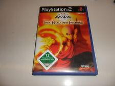 PlayStation 2  PS 2  Avatar: Der Herr der Elemente - Der Pfad des Feuers