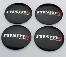"4x56mm 2.2"" Auto Car Wheel Center Hub Cap Emblems Badge Decal Sticker Fit nismo"