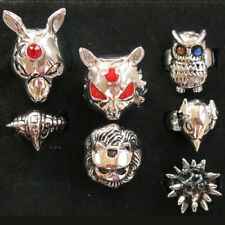 Cosplay Katekyo Hitman Reborn Vongola 7 Animal Rings NIB Free Shipping