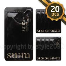 SU:M37 Bright award Bubble-De Mask Black 4.5ml x 20pcs SUM37 Pore Deep Cleansing
