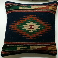 """Southwest Style Sofa or Bed Pillow Cover 18in X 18in """"The Moctezuma"""""""