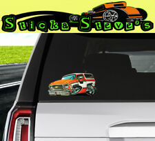 2X Lifted offroad truck stickers for Chevrolet Suburban 1967-1972 c10 classic
