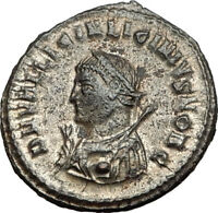 LICINIUS II Jr. 317AD Cyzicus Authentic Ancient Roman Coin JUPITER i65471
