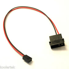 4-Pin Molex/IDE  to 3-Pin CPU/Chasis/Case Fan Power Connector Cable Adapter 12""