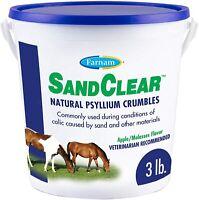 Farnam SandClear Natural Psyllium Crumbles 3 lbs.