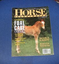 HORSE ILLUSTRATED MARCH 1995 - SPECIAL FOAL CARE ISSUE