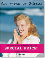 Marilyn Taschen Hardback Andre De Dienes Rare 80th Edition Booklet