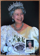 FIRST DAY OF ISSUE 1995 Stamped 45c POSTCARDS Birthday of Her Majesty the Queen