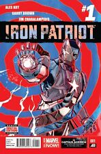 "IRON PATRIOT (2014) #'s 1, 2, 3, 4, 5 COMPLETE ""UNBREAKABLE"" SET VF/NM"