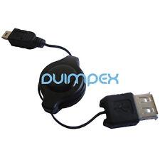 K10 80cm Allungabile USB 2.0 PRESA MINI 5 Spina Cavo cavo di prolunga
