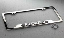 Genuine Nissan License Plate Frame Valve Stem Cap Set Universal