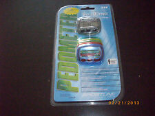 Sportline 340 PEDOMETER WITH INTERCHANGEABLE COLOR FACE PLATES New