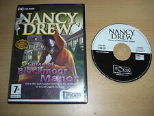 NANCY DREW 11 - CURSE OF BLACKMOOR MANOR FO  Pc Cd Rom  FAST DISPATCH