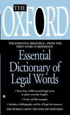 The Oxford Essential Dictionary of Legal Words