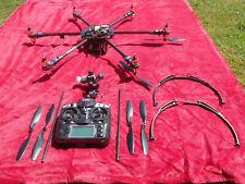 Hexacopter 12MOTOREN mit Fernbedienung + DJI Naza-M V2+ Gimbal+ Camera ,Drohne