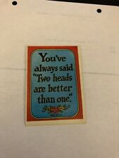 1965 Topps Insults Cards #15