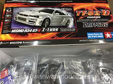Tamiya 58605 Rc Nismo R34 Gt-R Z-Tune (Tt02D Drift Spec) 1/10