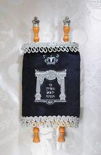 Medium Hebrew Sefer Torah silver Scroll Book Jewish Israel Holy Bible