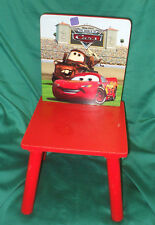 Children's Disney CHAIR Pixar CHAIR The world of cars chair COLLECTION ONLY SY11