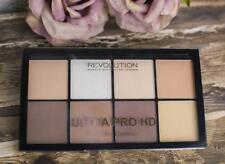 MAKEUP REVOLUTION Ultra PRO HD POWDER Contour HIGHLIGHTER Bronzer Palette - FAIR