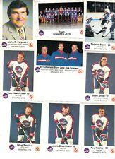 1984-85 Winnipeg Jets Police Set (24) NRMT