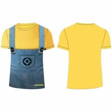 OFFICIEL DESPICABLE ME minion jaune (regard de Denim) t-shirt manche courte âge