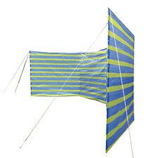 Camping Windschutz XL Sichtschutz Strand Zelt Garten Zaun PE Plane 400x135 groß