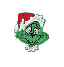Grinch - Christmas - Embroidered Iron On Applique Patch