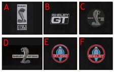 New! 2005-2009 Mustang BLACK Floor Mat Set Shelby Cobra Snake Embroidered Logo 4