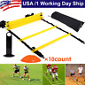 Speed Agility Training Ladder Kit . Cones Football Soccer Train Exercise Fitness