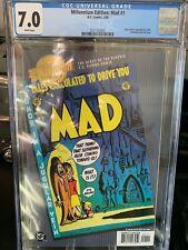 Millenium Edition: MAD #1 Correct Edition CGC 7.0 Gold Embossed