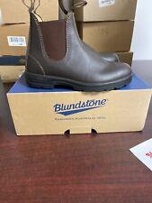 Blundstone Unisex 550 Walnut Booties Size UsaM 7.5 M , 126