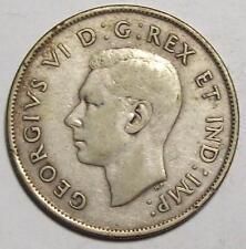 1942 CANADA HALF DOLLAR  50 cents  Original Uncleaned CIRC  **Free U.S. Ship