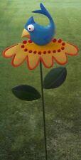 "Garden Lawn Yard Decoration Whimsically Styled Blue Bird  NEW 50"" tall"
