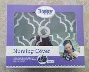 Boppy Nursing Cover Seville Black White Slideline Collection