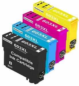 Ink Cartridges for Epson XP-2100 XP-2105 XP-3100 XP-3105 603XL Multipack Set
