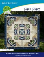 Park Plaza Quilt Pattern by Cozy Quilt Designs