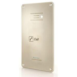 Pantel Telephone Door entry System - Single Call Key - Aluminium - FLUSH Mounted