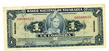 Nicaragua ... P-99c ... 1 Cordoba ... 1960 ... *XF*