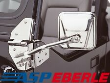 Spiegel Set Außenspiegel Jeep Edelstahl CJ Wrangler YJ