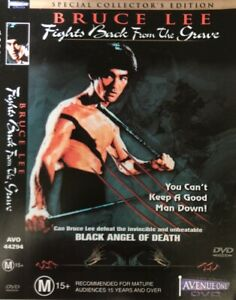 BRUCE LEE : FIGHTS BACK FROM THE GRAVE DVD. New