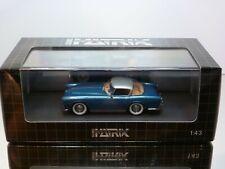 MATRIX MX40405 DODGE STORM ZEDER 1953 Z-250 by BERTONE - BLUE 1:43 - MINT IN BOX