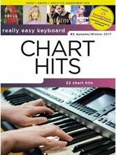Really Easy Keyboard Chart Hits Autumn Winter 2017 Sheet Music Book Beiber #K