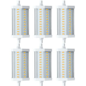 6 x Paulmann LED Leuchtmittel 12W R7s Warmweiß 2700K 12W 118mm DIMMBAR UVP 209€