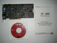 STB 3DFX Voodoo2 1000 12MB 100MHz Rev. C Tested with Manual and Driver CD