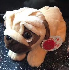 Pug Dog Pugsley Plush Beanie Toy By Keel Toys Bnwt