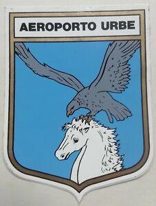 PATCH AEROPORTO URBE ROMA AERONAUTICA MILITARE AVIAZIONE AEREO TOPPA ADESIVO