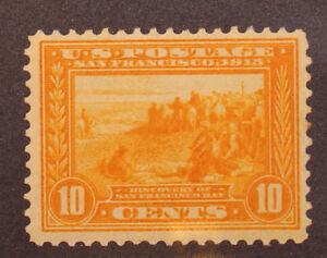 Scott 400 - 10 Cents San Francisco Bay - MNH - Nice Stamp - SCV - $250.00
