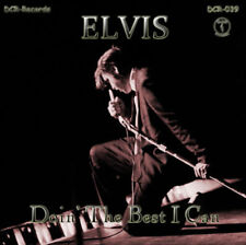 """ELVIS PRESLEY - """"DOIN' THE BEST I CAN"""" (2017) 26 UNRELEASED TAKES - NEW CD"""